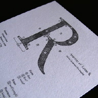 Type Anatomy Postcard R